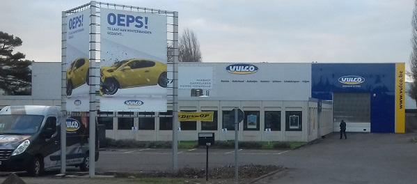 Vulco Zaventem, bandencentrale in Zaventem