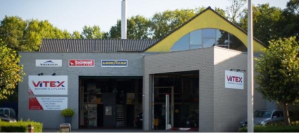 Vulco Vitex, bandencentrale in Sint-Kruis (Brugge)
